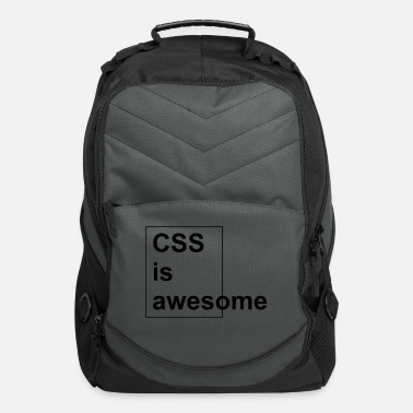 Css CSS is awesome - Computer Backpack