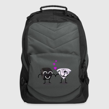 Coal and Diamond Dating - Computer Backpack