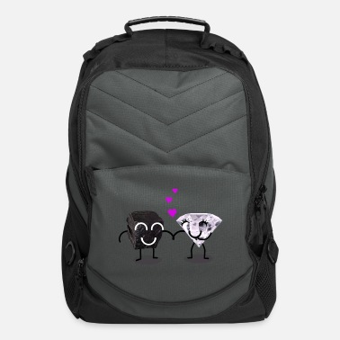 Day Coal and Diamond Dating - Computer Backpack