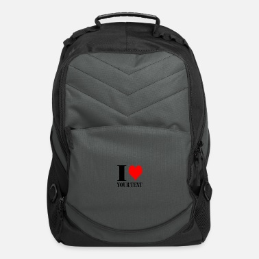 I LOVE YOUR TEXT - Computer Backpack