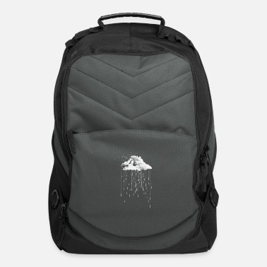 Drawing Rain clouds - Computer Backpack