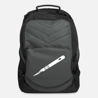 Nurse scalpel_bs3 - Computer Backpack