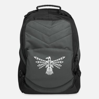 Cycling Tribal thunder bird 1 - Computer Backpack