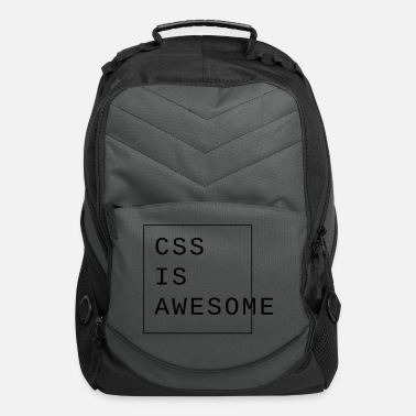 Idea css is awesome Webdesign - Computer Backpack