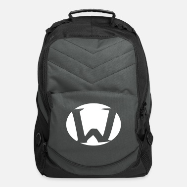 Initial Superhero, Hero, Actionhero, W - Computer Backpack