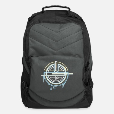 Pattern Amulet in three colors - Computer Backpack