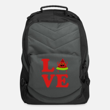 Laugh ❤Love Watermelon-Best Hot Summer Fruit❤ - Computer Backpack