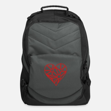 Idea Valentine's heart - Computer Backpack
