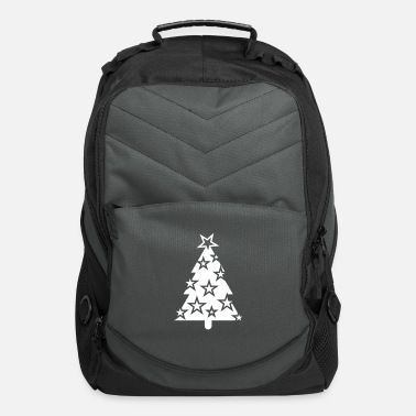 Decoration Christmas tree with deco - Computer Backpack