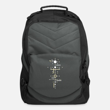 Pattern Points and lines - Computer Backpack