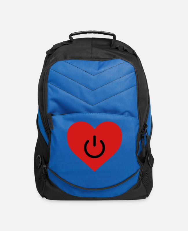 The Best Of Bags & Backpacks - power of love v2 - Computer Backpack royal blue