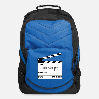 Television clapperboard - Computer Backpack