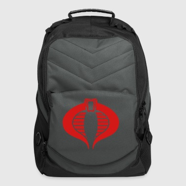 black_cobra_commander_tshirt - Computer Backpack