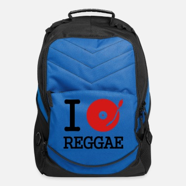 Deejay I dj / play / listen to reggae - Computer Backpack