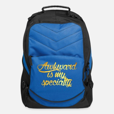 Specialty Awkward Is My Specialty - Computer Backpack