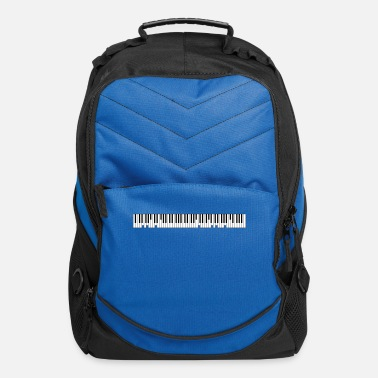 Text Grand Piano Custom Text - Computer Backpack