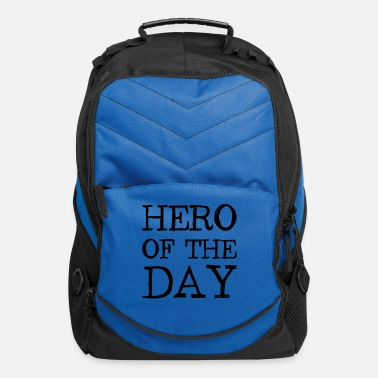 Hero of the Day - Heroes - Father - Mother - Computer Backpack