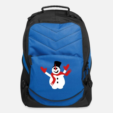 Snowflake Snowman - Computer Backpack
