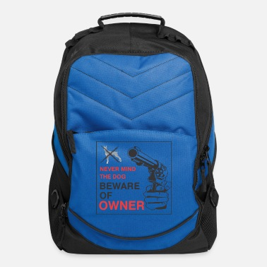 Owner Beware of owner - Computer Backpack