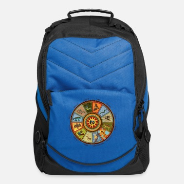 Native Native American Zodiac - Computer Backpack