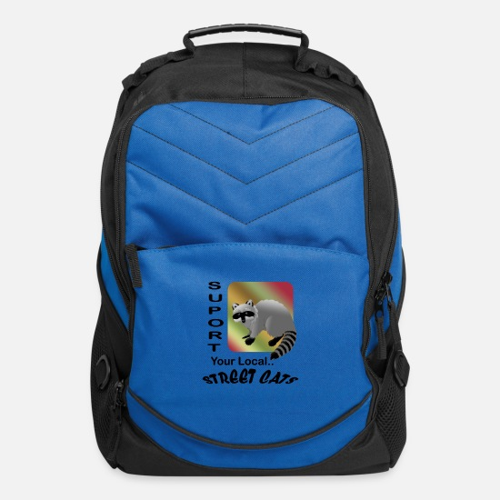 Street Dance Bags & Backpacks - Street Cats - Computer Backpack royal blue