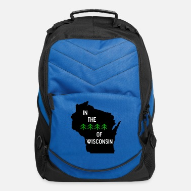 Wisconsin Funny Woods of Wisconsin - Computer Backpack