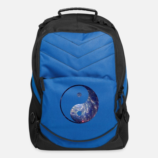Hipster Bags & Backpacks - Cosmic Balance - Computer Backpack royal blue