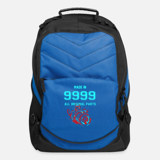 Wheelchair Bags & Backpacks - MADE IN 9999- Photography - Computer Backpack royal blue
