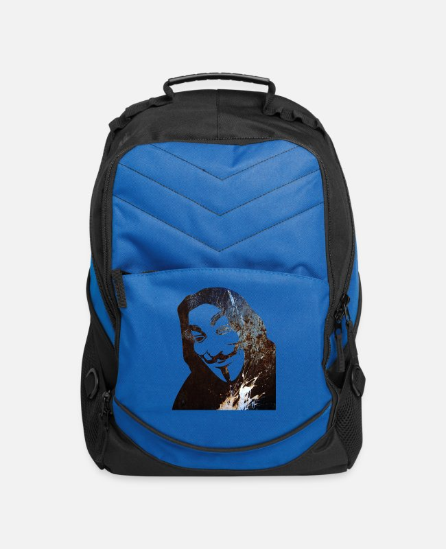 Anon Bags & Backpacks - Anonymous - Computer Backpack royal blue
