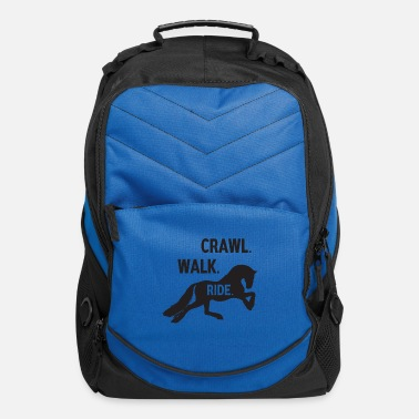 Crawl-snake crawl walk ride - Computer Backpack