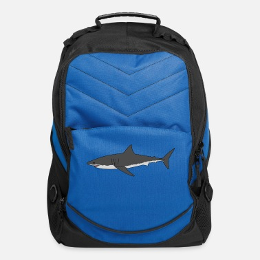 Great White Shark 4 - Computer Backpack