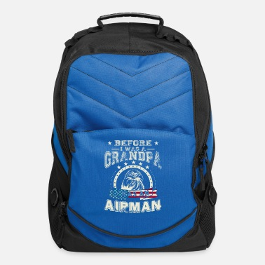 Proud Airman Before I Was A Grandpa I Was An Airman T Shirt - Computer Backpack
