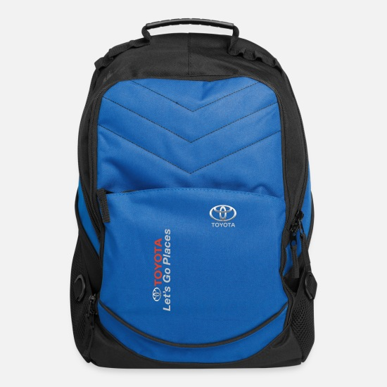 Toyota Bags & Backpacks - toyota let s go places toyota strong car - Computer Backpack royal blue