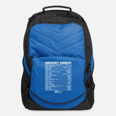 Numbers Bible Emergency Numbers Holy Hotline - Computer Backpack