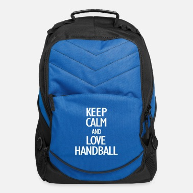 Ball Sport keep calm and love handball - Computer Backpack