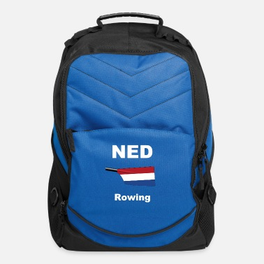 Row Boat NED - Netherland - Rowing - Aviron - Row Boat - Computer Backpack