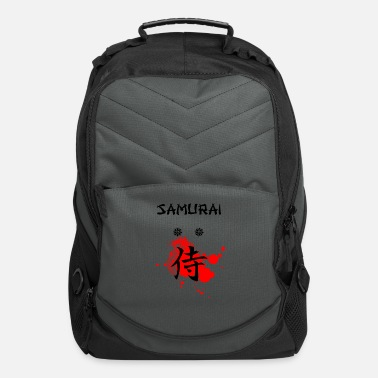 Japanese Samurai Kanji Art - Cool Gift - Computer Backpack