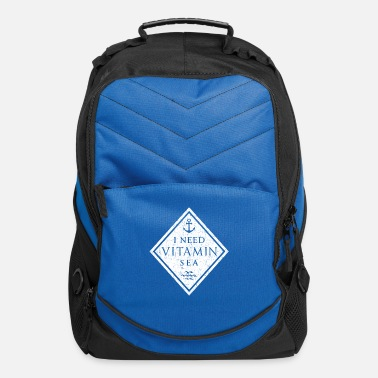 Anchor NEED VITAMIN SEA - Computer Backpack
