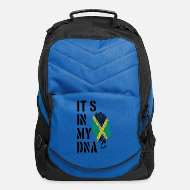 Jerk Jamaica Its in my DNA pngbl - Computer Backpack
