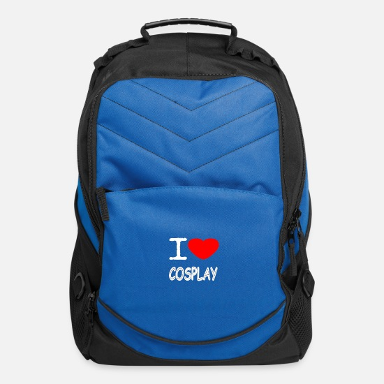 Cosplay Bags & Backpacks - I LOVE COSPLAY - Computer Backpack royal blue