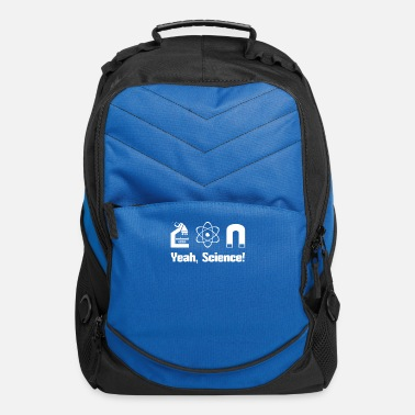 Funny Science Quotes yeah science Pinkman quotes - Computer Backpack