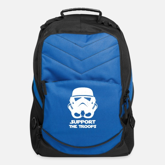 Scout Bags & Backpacks - SUPPORT THE TROOPS - Computer Backpack royal blue