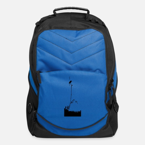 Strong Bags & Backpacks - Musashis Sparrow vector / changeable Design - Computer Backpack royal blue