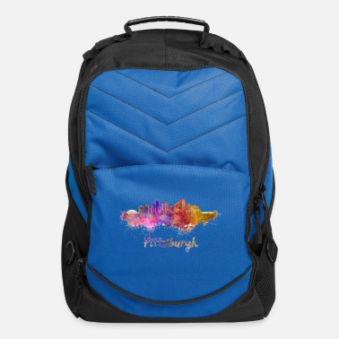 Pittsburgh Skyline Bridge - Computer Backpack
