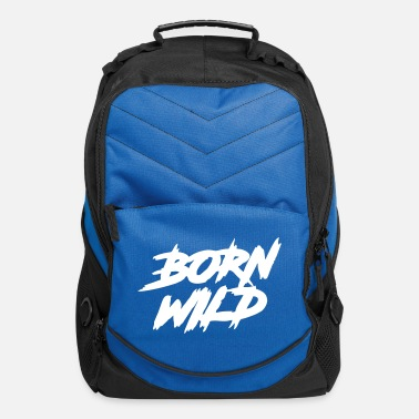 Wilderness Born Wild - Computer Backpack