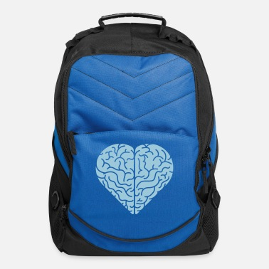 Valentine's Day Lovely heart shaped brain - Computer Backpack