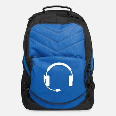 Keep Calm Headphones - Computer Backpack