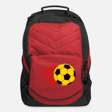 Fire burning ball - Computer Backpack