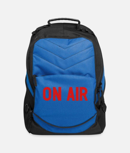 TV Bags & Backpacks - On Air - Computer Backpack royal blue