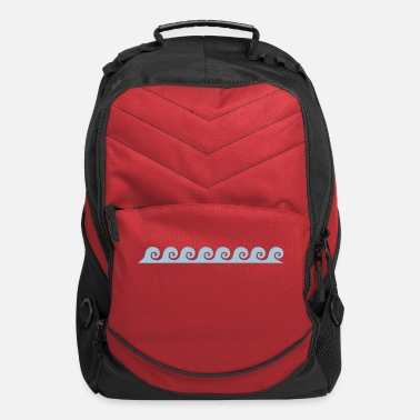 Waves waves - Computer Backpack